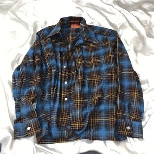 VINTAGE SEARS 60s COLLAB KINGS ROAD SHOP FLANNEL